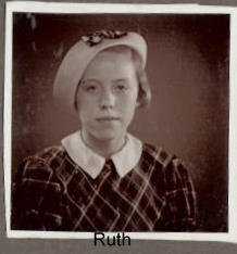 My mother Ruth at the time about 1937