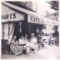 Paris in 1949 the famouscafé