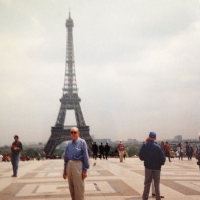 My father in Paris
