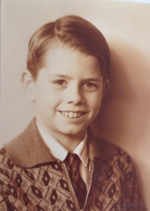 My father Aage Holm as a child in the 1920s