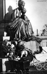 image press photo from Copenhagen 1950s