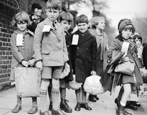 Evacuated Children