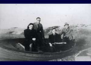 One of the boats with Jews