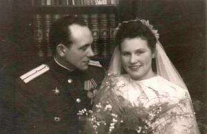 Aleksander and Elfriide wedding