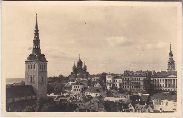Tallin-postkort 1940