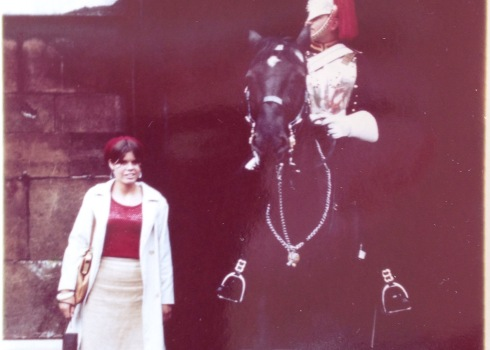 At the horse guard 1966 in London