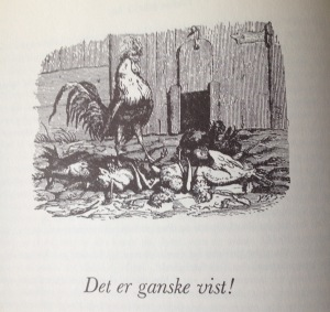 Vilhelm Pedersen's illustration