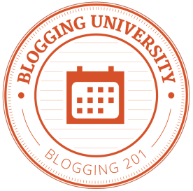 badge for Blogging 201