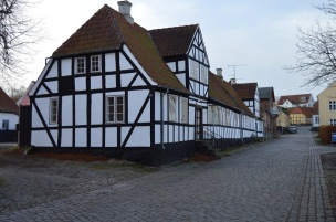 Old houses and streets