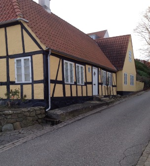 old house in Mariager