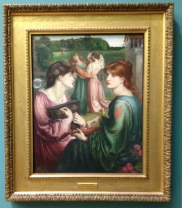 """The Bower Meadow"" by Rossetti 1850-72"