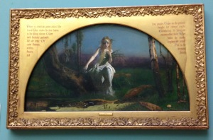 """Ophelia"" painted by Arthur Huges when he was only 19 years old in 1852"