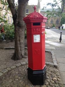 Old Pillar Box from at Durham U.K.