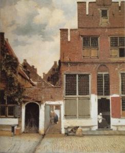 Street in Delft c. 1657-58 Amsterdam, Rijksmuseum