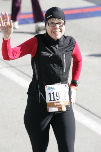 At the Finish Line in New York 2011