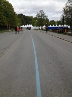 The blue line in Gothenburg