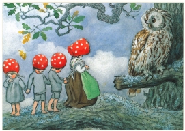 Illustration by Swedish Elsa Beskow