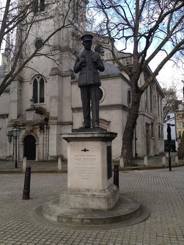 St Clement Danes RAF memorial