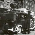 Barnevogn på taxi under krigen iKøbenhavn