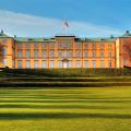 Frederiksberg slot og havearkitektfoto