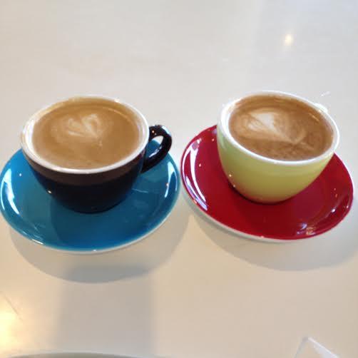 Kaffe på Aros