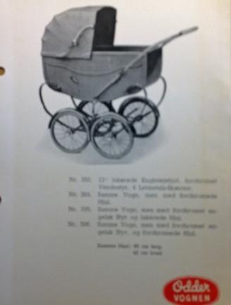 Odder model 1950s
