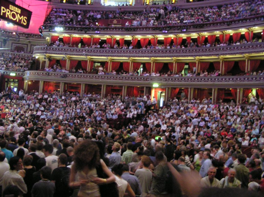 Inside at the Royal Albert Hall
