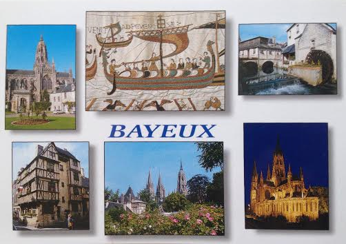 Postcard from Bayeux