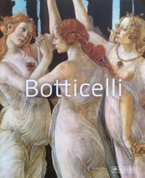 "The front of the art book ""Botticelli"" Prestel"" a detail from ""Prima Vera"" in Florence"
