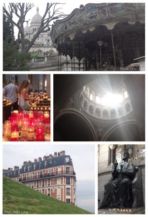 Paris, Montmartre, Sacré Coeur, Carrousel, Basilica, France