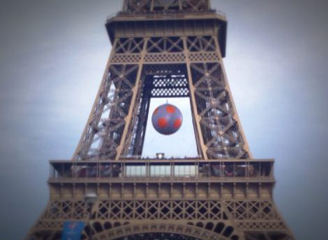 Euro 2016, UEFA, Paris, France, Eiffel Tower, Soccer, Soccer ball
