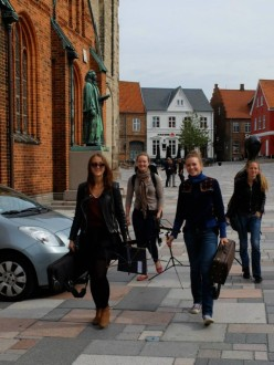 The Nightingale String Quartet at Ribe Cathedral