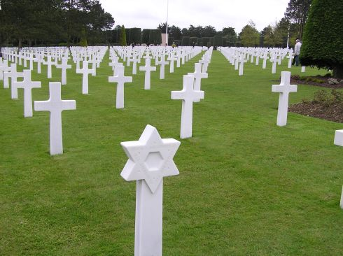 From the American National war Cemetery