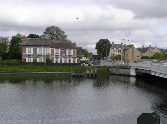 "The Gondreé Café and the ""Pegasus Bridge"""