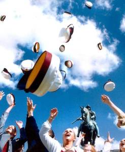 Traditions at graduation in Denmark