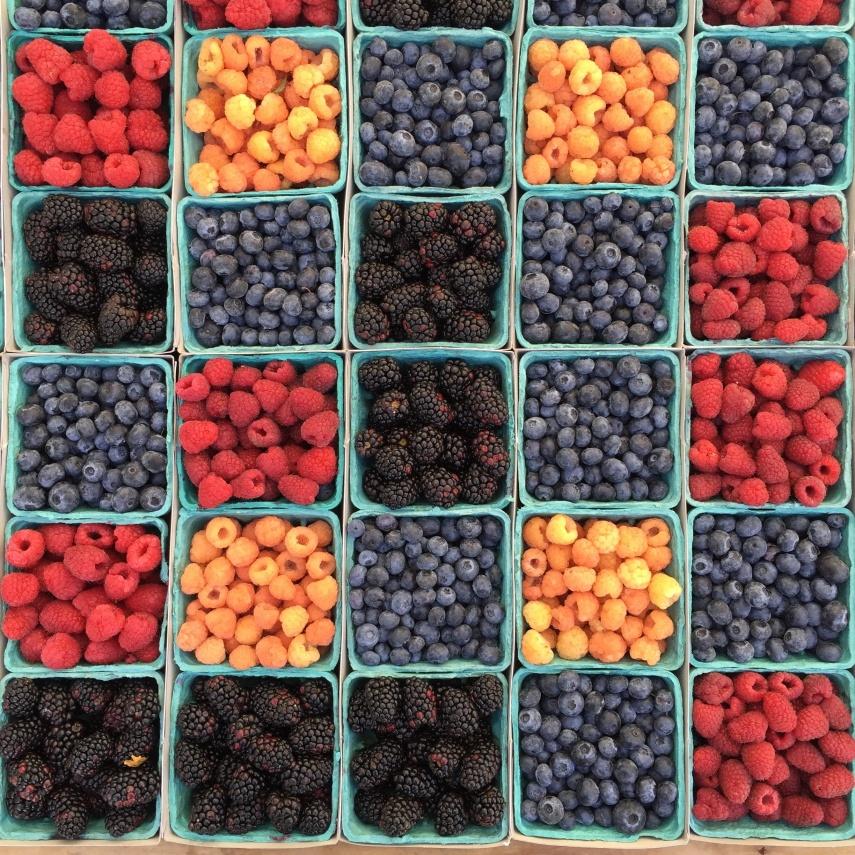 Hindbær og andre bær i Unsplash