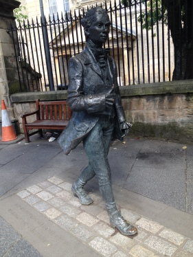 Meeting Robert Fergusson at Canongate