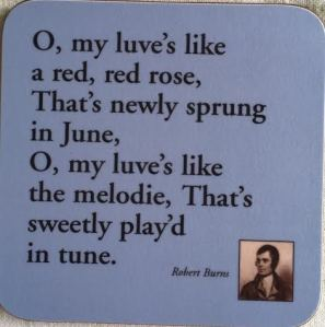 Robert Burns a small poem