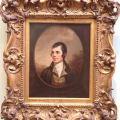 Robert Burns at the Royal Scottish PortraitGallery