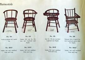 Pedigree- barnestole