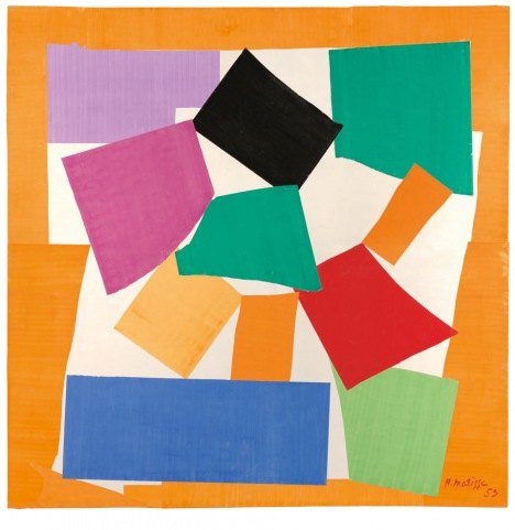 Matisse's late paper cuts