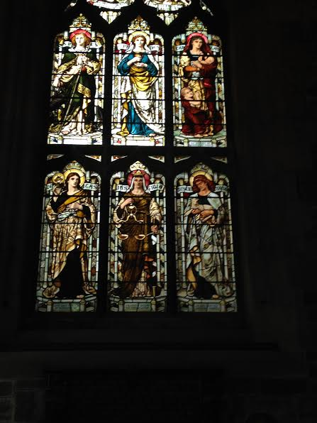 st-giles stained-glass