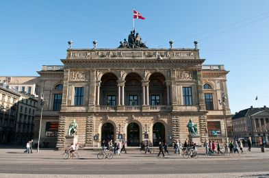 The Royal Danish Theatre in Copenhagen photo Axel Kuhlmann
