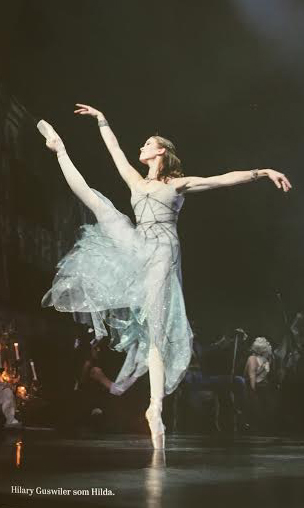 "From the ballet ""A folk Tale"" by August Bournonville performed 563 times at the Royal theatre"
