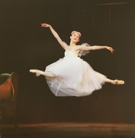 The Royal Danish Ballet J'aime Crandall in La Sylphide