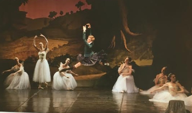 The Royal Danish Ballet 2011 Marcin Kupinski as James in La Sylphide