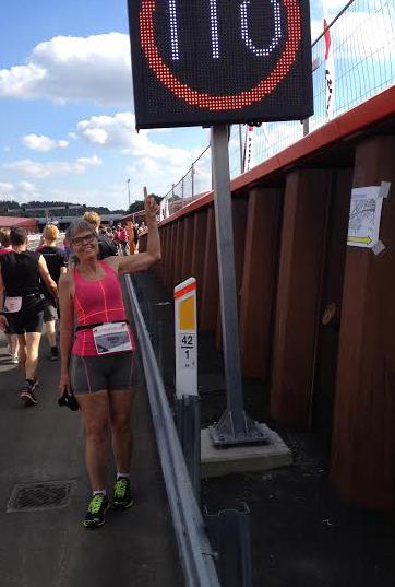 From a Half Marathon last month