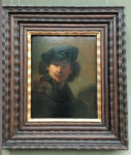 "Rembrandt Self-Portrait from ""Gemälde Gallerie"""