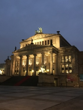 The concert and opera house in the former old East Berlin