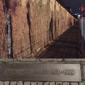 The small part of the Berlin wall